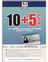 Durée de validité carte d'identité (1)