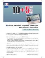 Durée de validité carte d'identité (2)